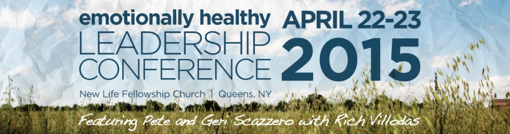 Emotionally Healthy Leadership Conference