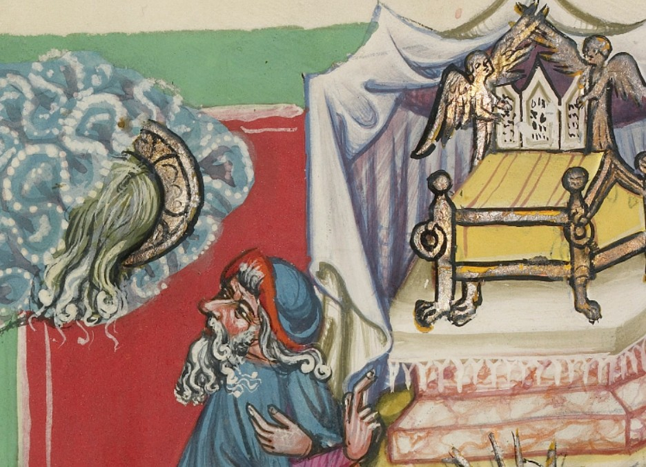 Moses from Getty german manuscript