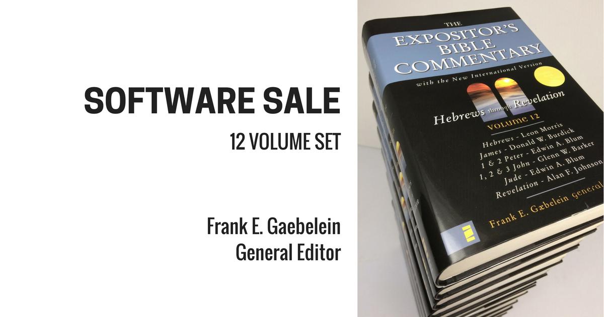 Logos Bible Software Sale: Expositor's Bible… | Zondervan