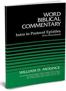 WBC Pastoral Epistles