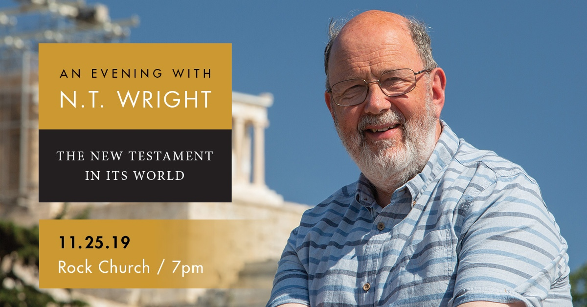 An Evening with N. T. Wright