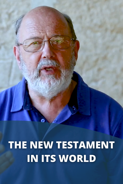 The New Testament in Its World