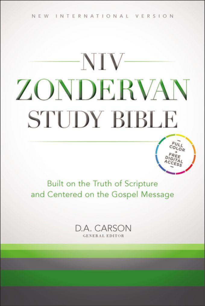 NIV Zondervan Study Bible, Hardcover | Zondervan Academic