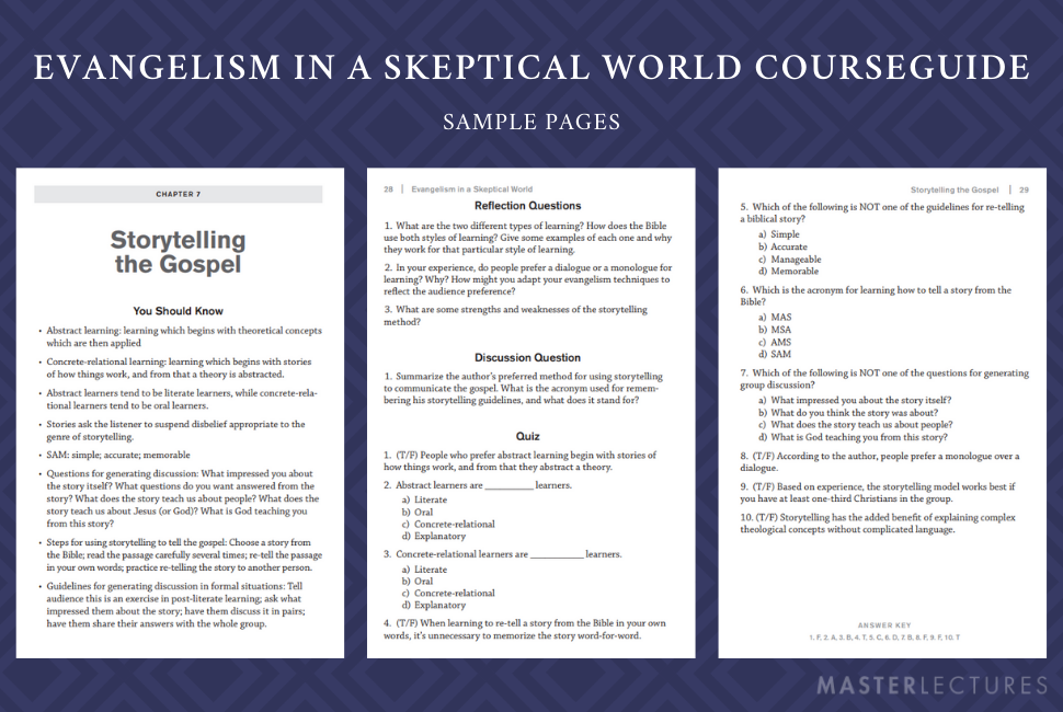 Evangelism in a Skeptical World CourseGuide